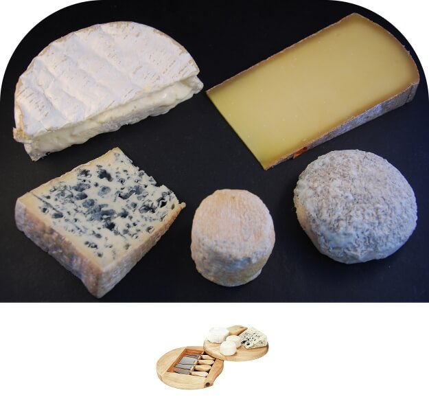 Offre 3 Groupon Septembre -  5 Fromages et plateau pivotant