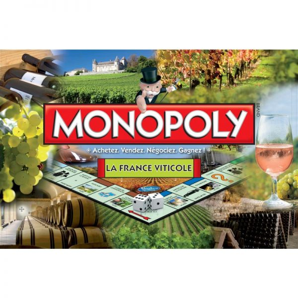 Monopoly La France Viticole