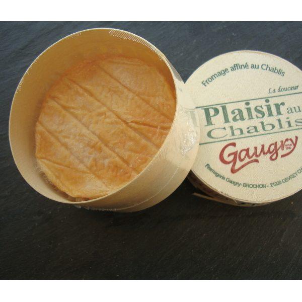 Plaisir au Chablis : Fromage à base de lait cru de vache