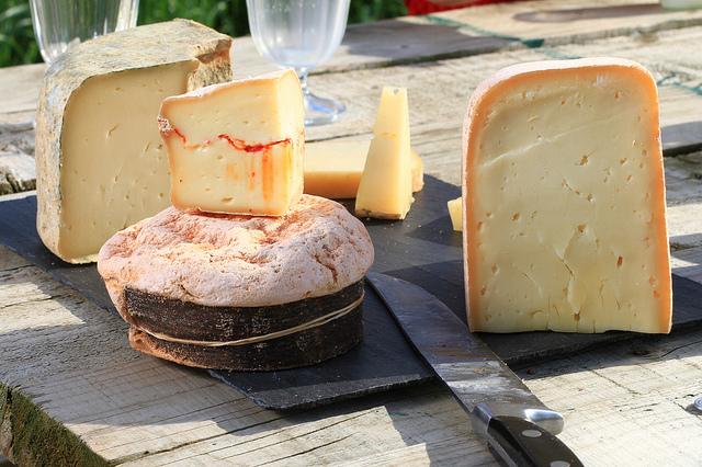 Les fromages les plus caloriques