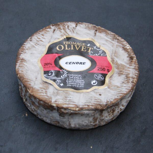 Olivet Cendré : Fromage à pâte molle à croûte lavée