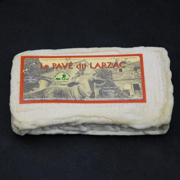 Pave du Larzac : Fromage au lait de Brebis