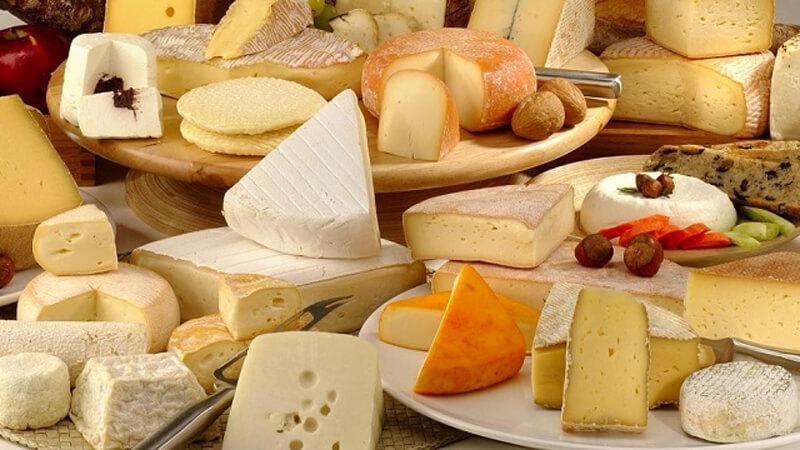 Le marché de fromage