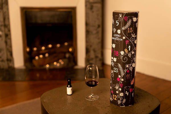 Le Calendrier de l'avent du vin en 24 mignonnettes