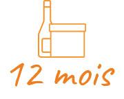 Offrir 12 Mois à la box du fromager et une bouteille de vin