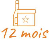 Offrir 12 Mois à la box du fromager connaisseur et une bouteille de vin