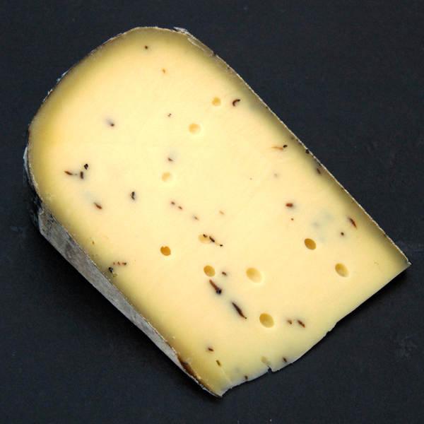 Gouda à la truffe : Fromage au lait cru de Vache