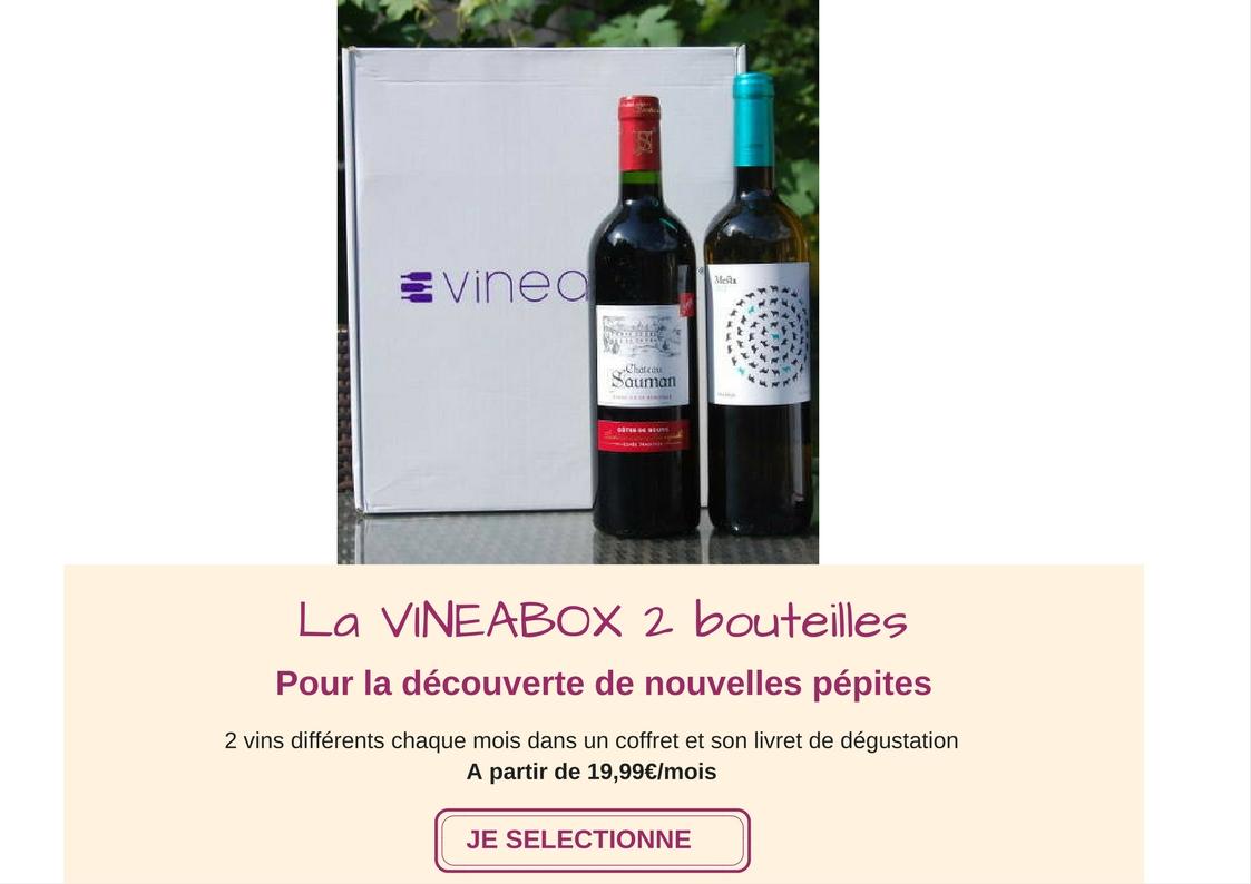 S'abonner ou offrir La VINEABOX 2 Bouteilles