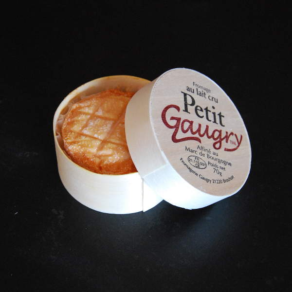 Le Petit Gaugry : Mini epoisses, Fromage à base de lait cru de vache