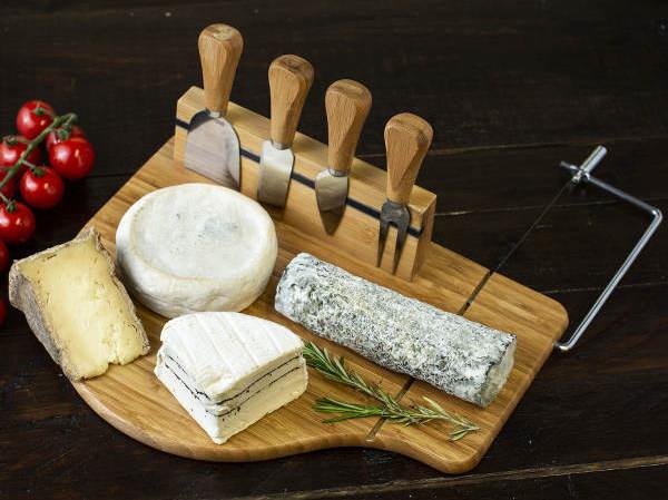 Plateau fromage en Bambou