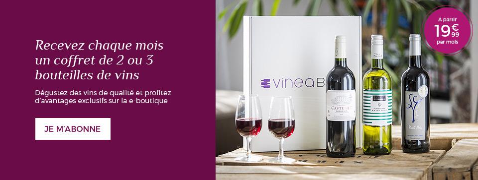 Abonnez-vous à l'une des premières box Vin !