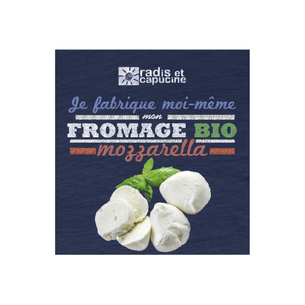 bocal diy fromage de Mozzarella 3