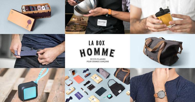 La Boite du Fromager et LaBoxHomme s'associent