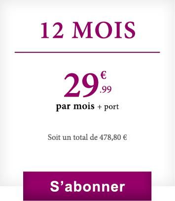 Abonnement 12 mois VineaBox
