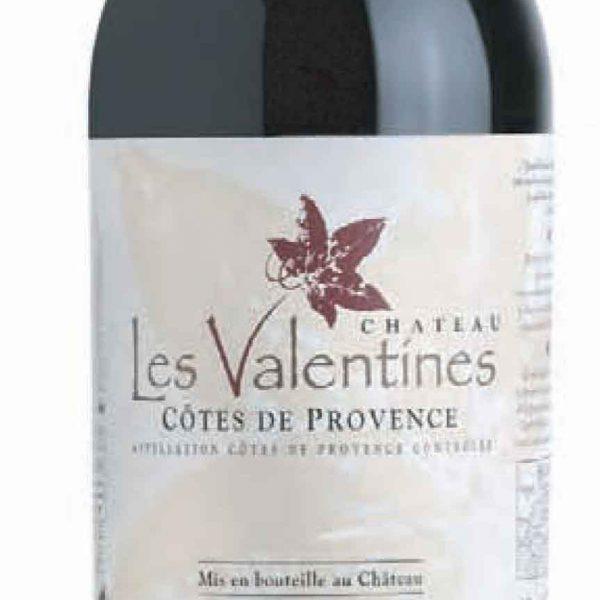Château Les Valentines - Rouge - Côtes de Provence