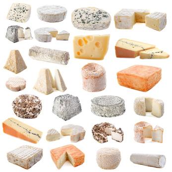 Classement des différents types de fromages