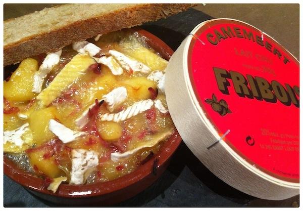 Recette fromage cocottes de pomme au camembert