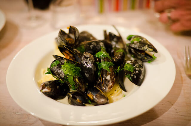 Moules au Munster