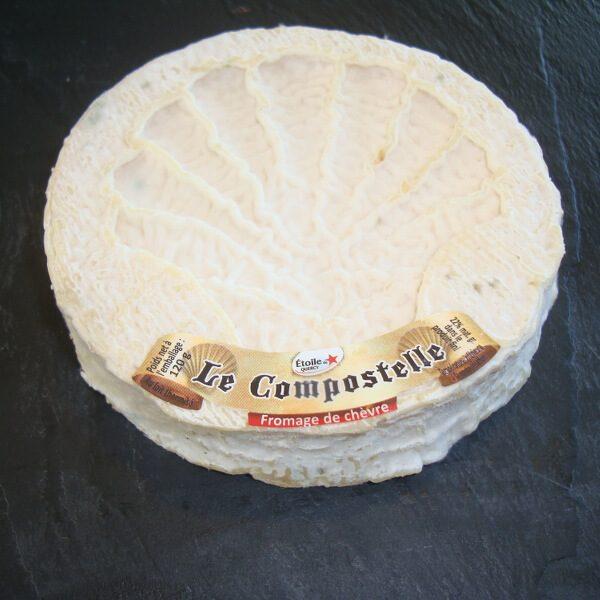 Compostelle : Fromage au Lait cru de Chèvre