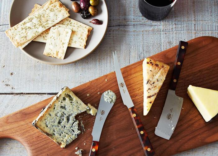 Service à fromage couteaux