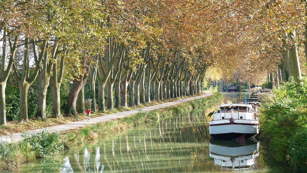 Canal du Midi - Toulouse et ses fromageries