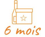 Offrir ou s'abonner 6 Mois à la box du fromager Connaisseur et une bouteille de Vin