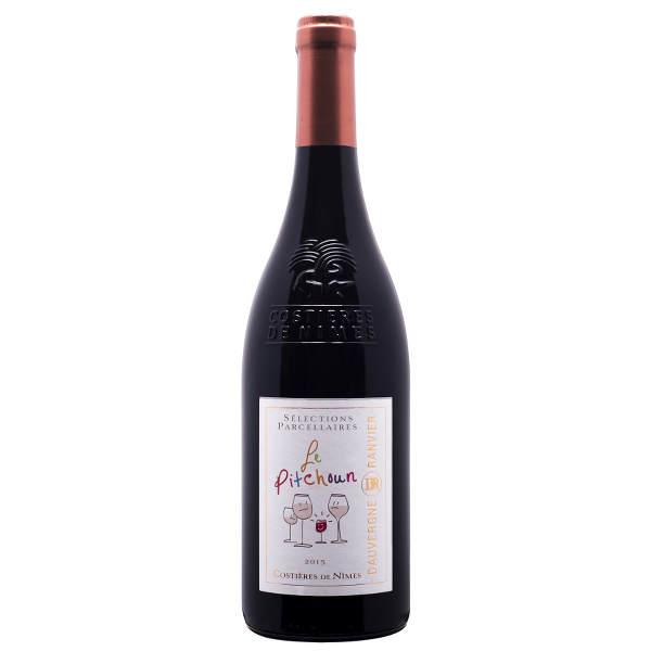 Costière de Nîmes - PITCHOUN : Vin Rouge de la vallée du Rhône