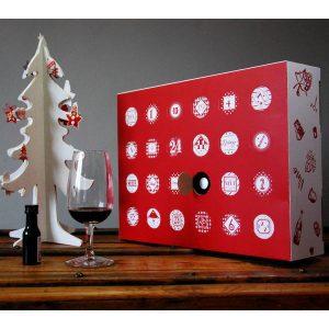 Le Calendrier de l'avent du vin en 24 mignonnettes 2019