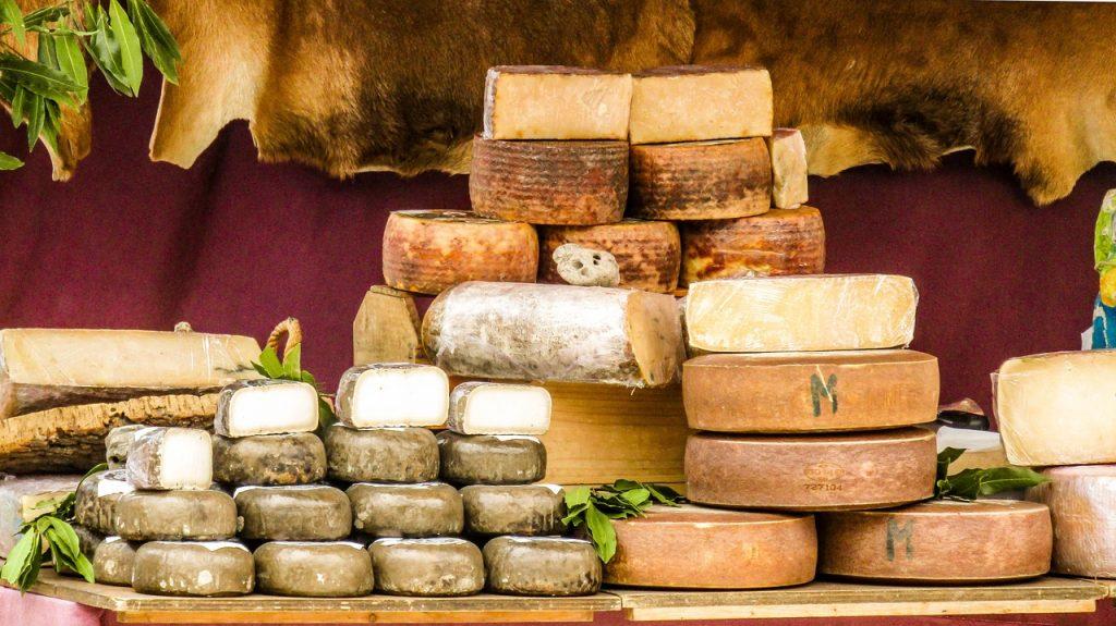 Caractéristiques des fromages selon sa région