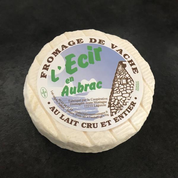 Ecir en Aubrac : fromage au lait cru de Vache