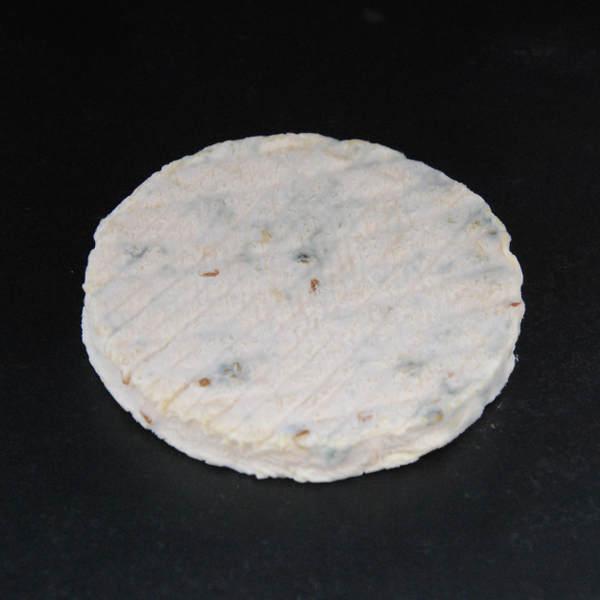 Galet au Fenugrec : fromage fermier au lait cru de Chèvre