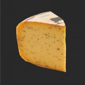 Gouda au Cumin : fromage au lait de vache à pâte pressée non cuite