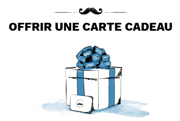 Carte cadeau homme Big Moustache