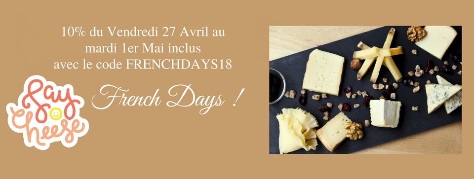 Les French Days by La Boite du Fromager
