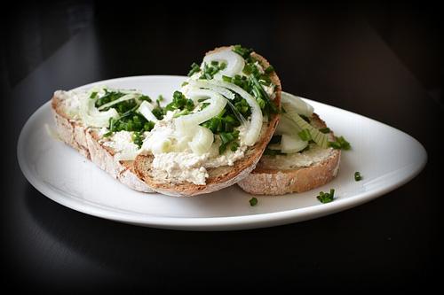 Fromage Blanc tartines et sandwich