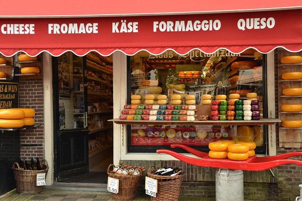 Les fromages des Pays-Bas Hollande