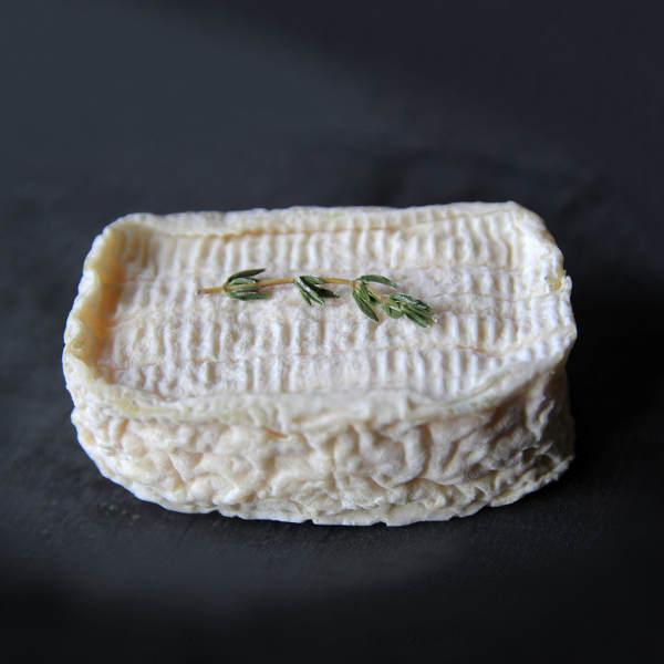 Ovalie Romarin : fromage à croûte naturelle au lait cru de chèvre