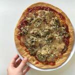 Pizza Artichaut Champignon