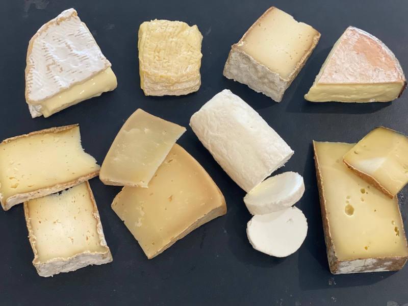 post image : La box fromage de juin 2021