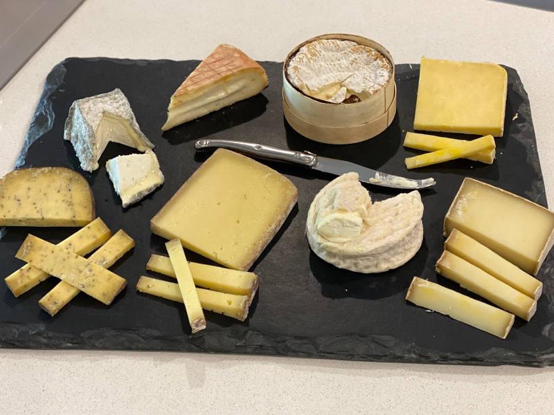 post image : La box fromage de mai 2021