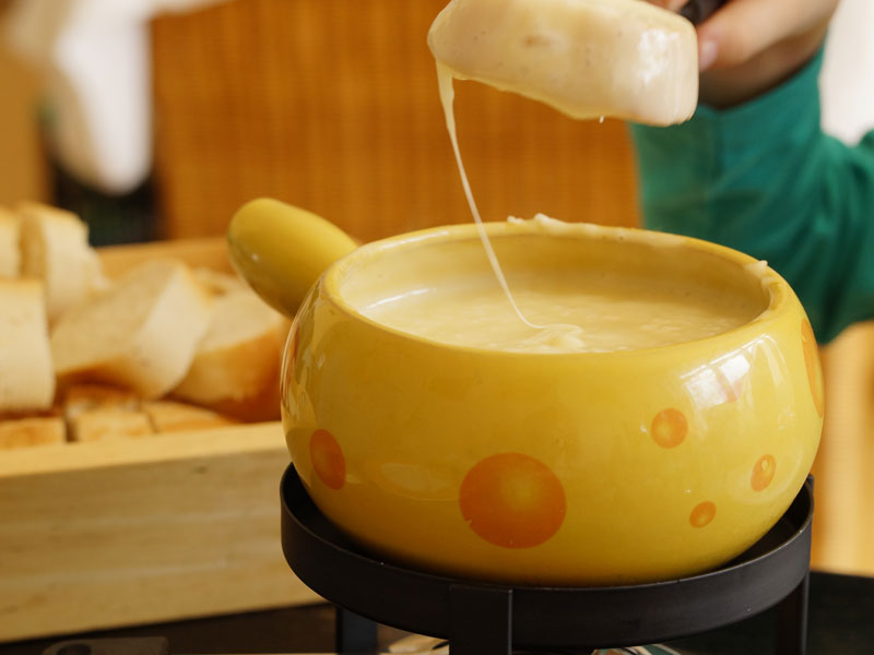 Quels accompagnements pour une fondue
