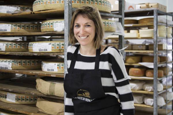 Rebecca la Fromagère de la boite du fromager