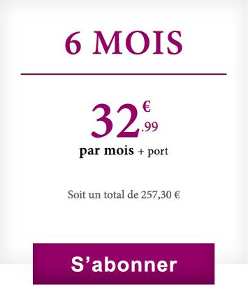 Abonnement 6 mois VineaBox