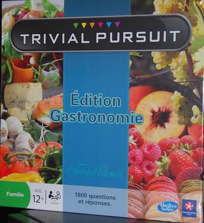 TRIVIAL PURSUIT - Nouvelle Edition Gastronomie 2014