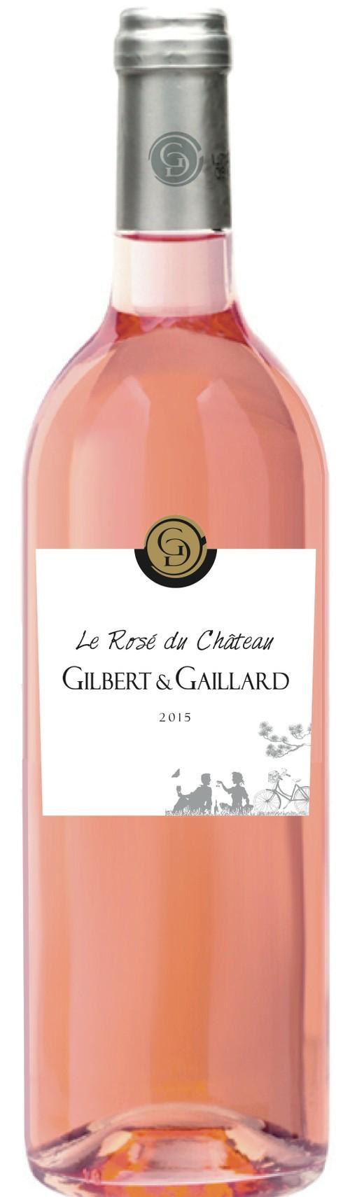 Château Gilbert & Gaillard - Le Rosé - AOC Saint-chinian