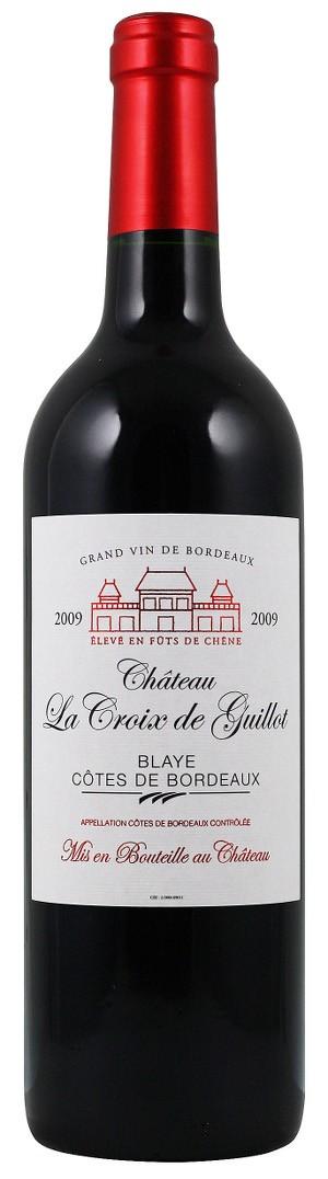 Château La Croix de Guillot - Blaye -Bordeaux Rouge