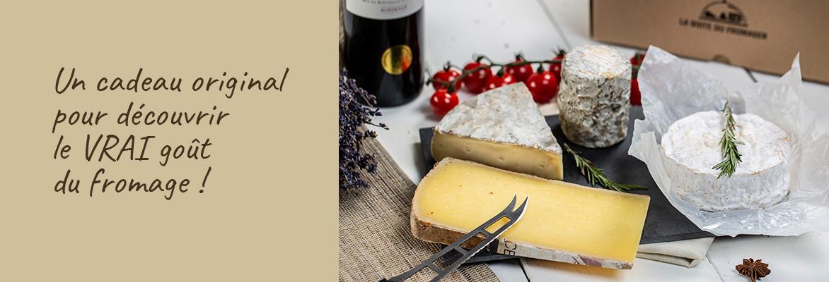 Un Cadeau original pour découvrir le vrai goût du fromage