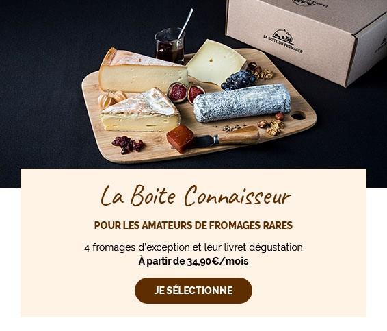 Choisissez de découvrir 4 fromages pour les connaisseurs