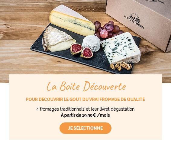 Choisissez de découvrir 4 fromages pour les novices